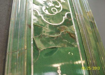 Green boule mirror Pre-Trt (2)