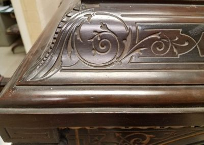 Victorian Kimbel and Cabus cabinet During trt (13)